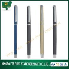 Conjunto de canetas de tinta de gel de metal com amostras grátis