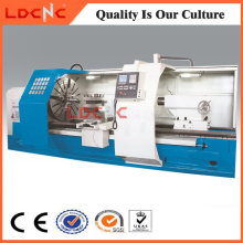 China Hohe Präzision Horizontal CNC Metall Drehmaschine Maschine Hersteller