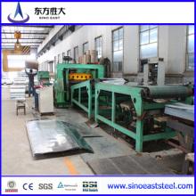 Feuilles de toit ondulées galvanisées de 2 m fabriquées dans un fabricant bien établi et fiable