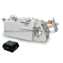 Corrugated Hot -  dog Food Container Making Machine With Gl
