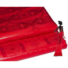 Tela de costura africana de Bazin Riche de la calidad superior del algodón 100% del precio bajo al por mayor de la fábrica para el banquete de boda
