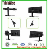 Thinkwise BL204 Free standing metal double monitor pivot desk stands