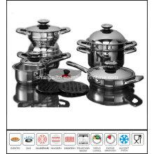 15 PCS Stainless Steel Cooking Utensils Set