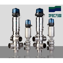 Sanitary Double-Seat Mix-Proof Ball Valve (IFEC-FH100001)