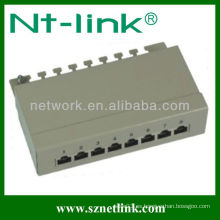Cat6 / cat5e STP 8 panel de conexiones