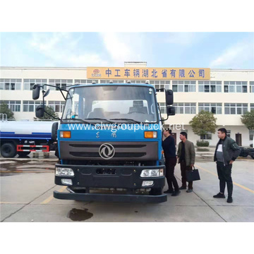 Dongfeng 4x2 Diesel Fuel Type water tank truck