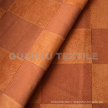 Suede Polyester Fabric with Taped Treatment for Sofa