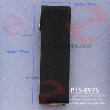 Accesorios de clip de cinturón negro cinturón de Gun Metal negro libre de níquel de Hong Kong