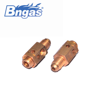 Brass nozzle jet gas burner gas burner nozzle
