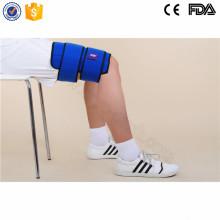 Bolsas de hielo reutilizables superventas de la recuperación de los deportes para el muslo de la herida al por mayor