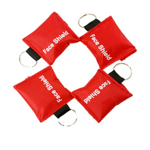 Medical CPR mask Face Shield With keyring