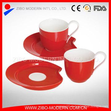 Mini Ceramic Cup und Untertasse Kaffeetasse Set Cup Untertasse