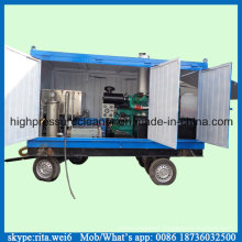 Diesel Industrial Pipe Cleaner High Pressure Washing Equipment