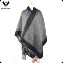 Latest Fashion Woven Knitted Big Winter Shawl
