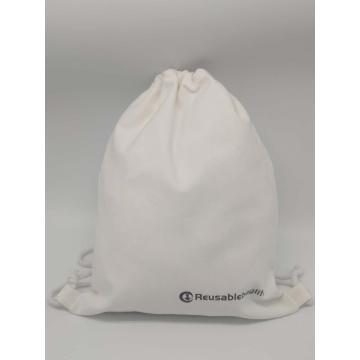 drawstring bag  canvas bag