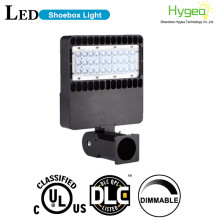200w led pole light shoe box light with motion sensor