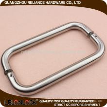 Нержавеющая сталь 304 стеклянная крышка ручка спиной к спине ручки двери отделка СС