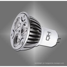 GU10, E27 Gu 5.3 MR16 3W Power LED Spotlight