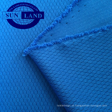 100% poliéster 3D tecido de malha de favo de mel para roupas de moda