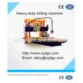 Maquinas de taladrar y fresadora de labranza