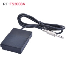 Metal Tattoo Square Foot Pedal