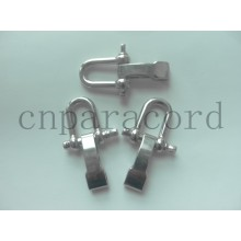 metal adjustable buckle OEM logo and color
