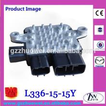 Módulo de control de ventilador de refrigeración de primera calidad para Mazda Mitsubishi 1355A124 L336-15-15Y 21493-EH10A