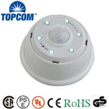 Lumière de capteur de mouvement à LED intérieure