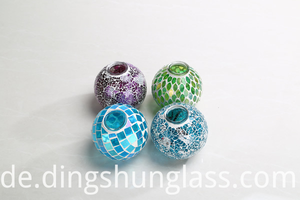 Cracked Glass Hanging Light Ball Cover