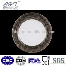 A013 Neues Design Catering Porzellan Platte für Restaurant