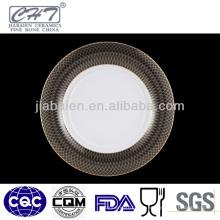 A013 Nouvelle assiette de porcelaine de cuisine design pour restaurant