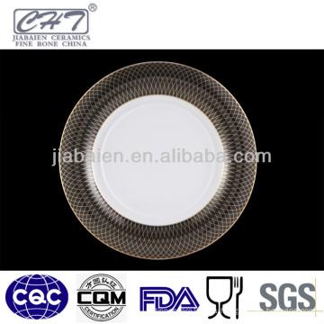 A013 Plato de porcelana de catering de diseño nuevo para restaurante