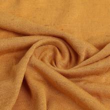 Трикотажная ткань из льняного трикотажа с грубыми иглами для одежды