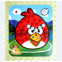 DIY educational toys plasic art and craft buttons