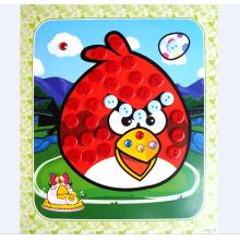 DIY образовательные игрушки пластмассовые искусства и ремесла кнопки