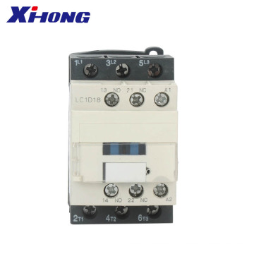 BEST PRICE 3 phase 50/60hz LC1D18 Coil AC Contactor
