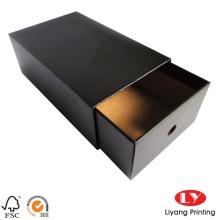 Boîte de tiroir coulissante faite sur commande en papier d'emballage