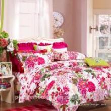 Lona de cama de poliéster impresa con buenos patrones a la venta