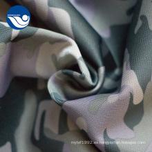 Ropa de uniforme militar de poliéster estampado de tela de camuflaje