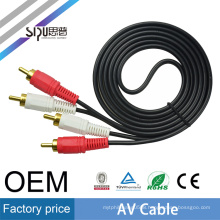 SIPU factory price 2rca av cable for laptop video wholesale audio video cable best price rca cable