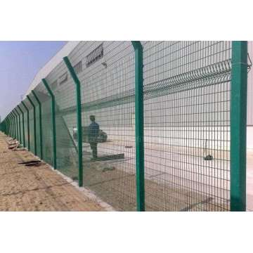 High Voltage 358 Security Prison Mesh Fence
