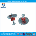 High Quality Drive Pins/Aluminum ZD Shooting Nails with Steel Washer and Flute