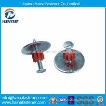 Hochwertige Antriebsstifte / Aluminium ZD Schießnägel mit Stahl Unterlegscheibe und Flöte