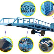 Warehouse cargo handing 6 ton mobile car ramp with CE certification Warehouse cargo handing 6 ton mobile car ramp with CE certification