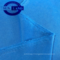 chemises de football d'été habillement en tissu de jersey interlock polyester à séchage rapide