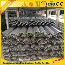 Алюминиевые угловые чистки алюминиевый профиль для пыли строительства завода