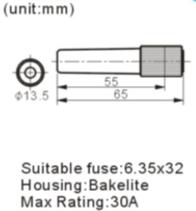 FH-604-1 fuse holder