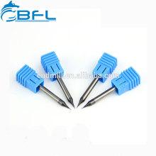Outils de coupe en métal dur de BFL / outils de coupe de fraise en bout de diamètre micro de commande numérique par ordinateur