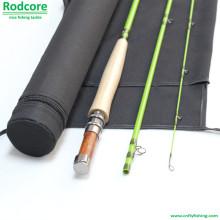 Verde Folha Gr805-3 Classic Moderado Fiberglass Fly Rod