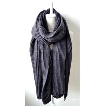 Châle en acrylique tricoté (12-BR201812-12)